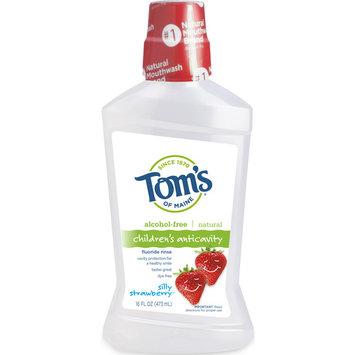 Tom's of Maine Silly Strawberry Children's Fluoride Rinse, 16oz