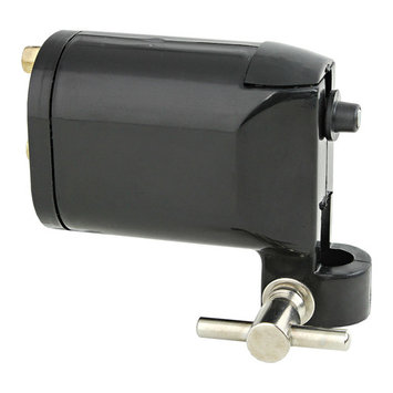 Black Rotary Motor Tattoo Machine Gun Supply Lightweight for Liner & Shader