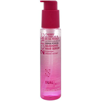 Giovanni 2chic Ultra-Luxurious Super Potion Silkening Hair Serum Cherry Blossom & Rose Petals