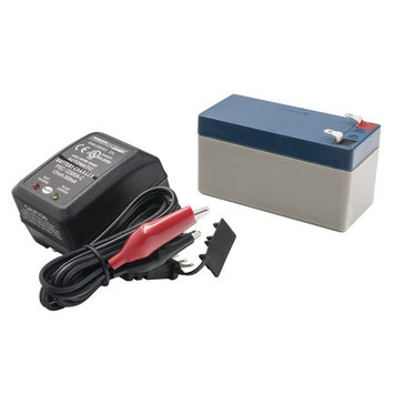 AutoMeter 9217 Extreme Environment Battery Pack And Charger Kit; AGM; 12V; 1.4AH;