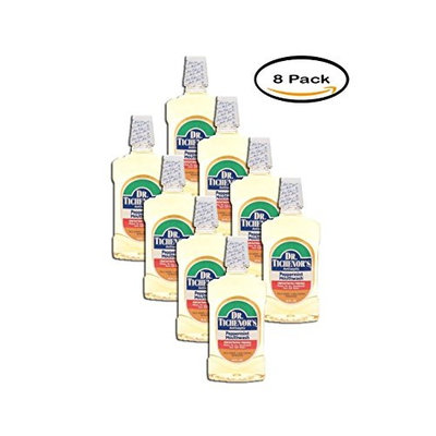 PACK OF 8 - Dr. Tichenor's Antiseptic Mouthwash, Peppermint, 16 Fl Oz