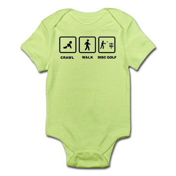 CafePress - Disc Golfing Infant Bodysuit - Baby Light Bodysuit