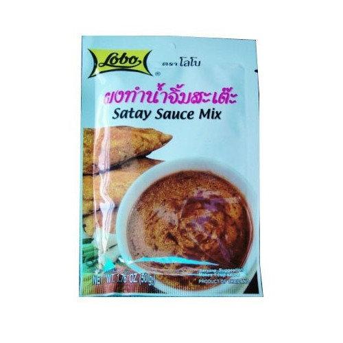 Lobo Satay Sauce MIX 10.76 Oz. (Pack of 3)