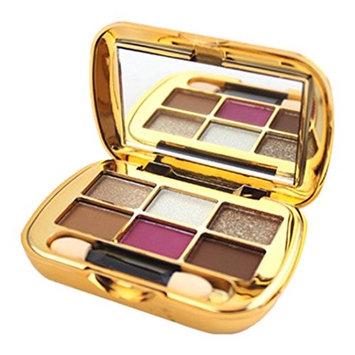 certainPL 6 Colors Eyeshadow Textured Pallete Faced Matte Pearl Makeup Eye shadow