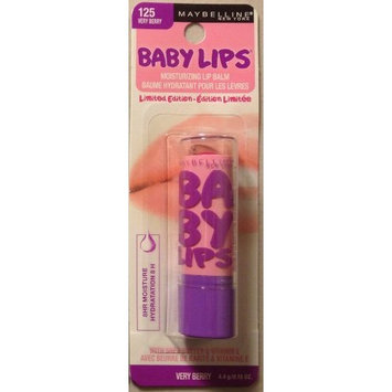 Maybelline Limited Edition Baby Lips ~ 125 Very Berry