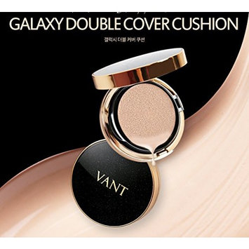 [VANT 36.5] VANT36.5 Galaxy Double Cover Cushion 12g SPF40/PA+++ No.21 Beige/K-Beauty/Korea Cosmetics : Beauty