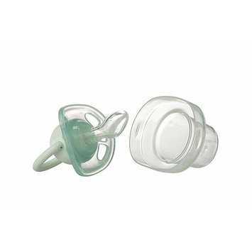 Abstract Silicone Baby Pacifier (Blue)