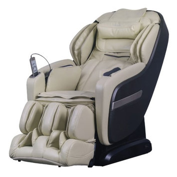 TITAN OS-Pro Summit Massage Chair with L-Track Massage Function - Cream