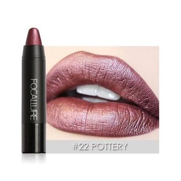 RNTOP FOCALLURE Matte Lipstick Pen Waterproof Lasting 8 Color Optional Lip Makeup
