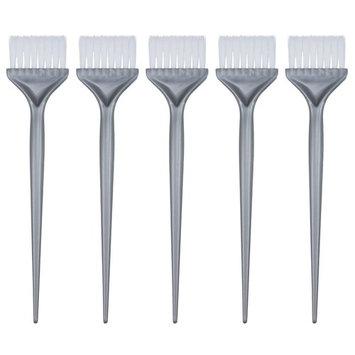 Mudder 5 Pack Hair Dye Coloring Brushes Hair Coloring Dyeing Kit Handle Salon Hair Bleach Tinting DIY Tool