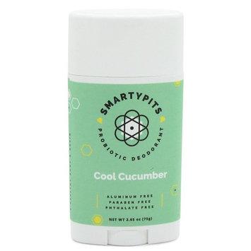 SmartyPits - Natural/Aluminum Free Prebiotic Deodorant (Cool Cucumber)