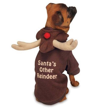 Pet Edge Dealer Services Casual Canine Reindeer Dog Hoodies Small