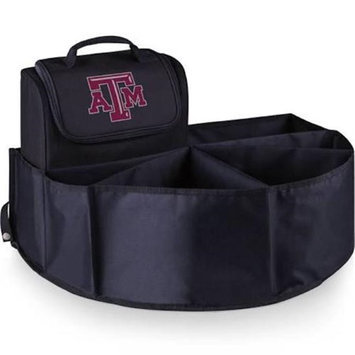 Picnic Time 715-00-179-564-0 Texas A and M University Digital Print Trunk Boss in Black with Cooler
