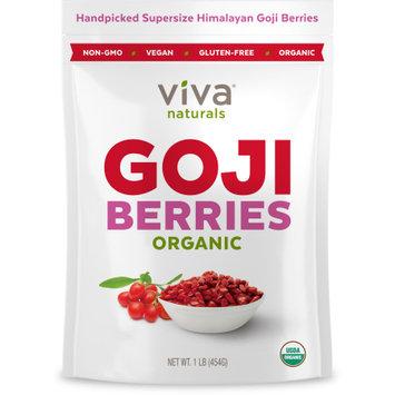 Viva Naturals Organic Goji Berries 1 lb