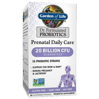 Garden of Life Dr. Formulated Probiotic Prenatal Daily Care Capsules - 30ct