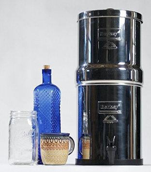 Berkey BK4x4-CF Big Berkey 2.25 gal. Stainless Steel Water Filter with Ceramic Filters
