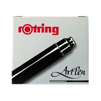 Rotring Fountain Pen Brilliant Brown Ink Cartridges (Pack of 6)
