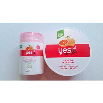 Yes To Grapefruit! Pore Perfection Night Treatment & Dark Spot Correcting Body Creme Set
