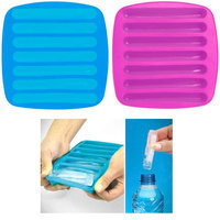 Qnp Rrg 2 Ice Maker Stick Tray Water Drink Sport Bottle Tube Silicone Chocolate Mold New