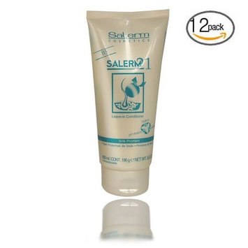 Salerm 21 B5 Silk Protein Leave in Conditioner 6.9 oz (Pack of 12)
