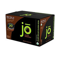 YORK JO: 12 Cup Organic Medium Dark Roast Single Serve Coffee for Keurig K-Cup Brewers, Keurig 1.0 & 2.0 Eco-Friendly Cup, Our Most Popular Signature Blend! No Additives, Non-GMO