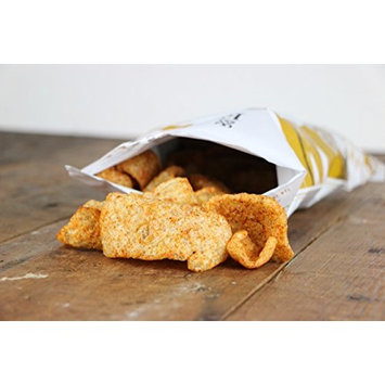 EPIC New Artisanal Pork Rinds Snack 2.5oz (BBQ Seasoning, 6 Pack)