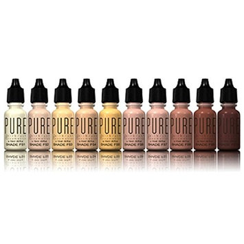Pure Pro Airbrush Foundation- 10 Pack