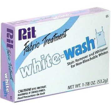 Rit White-Wash Fabric Treatment, Stain Remover, 1.88 oz (53.2 g)