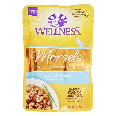 Grain Free Morsels Healthy Indulgence Adult Cat Food Turkey & Duck in Savory Sauce - 3 oz.