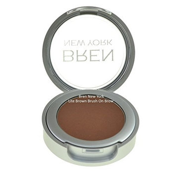Brush of Brow Eyebrow Powders for All Day Wear Easy to Blend and Match Natural Light Brown