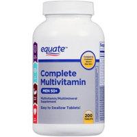 Equate Complete Multivitamin for Men 50+, 200 Ct