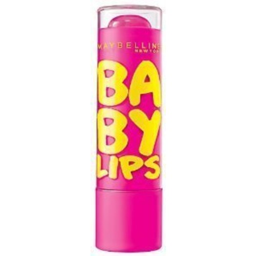 Maybelline New York Baby Lips Moisturizing Lip Balm, Pink Punch, 0.15 oz.