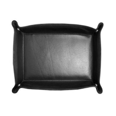 Winn International Leather Travel Tray 9477
