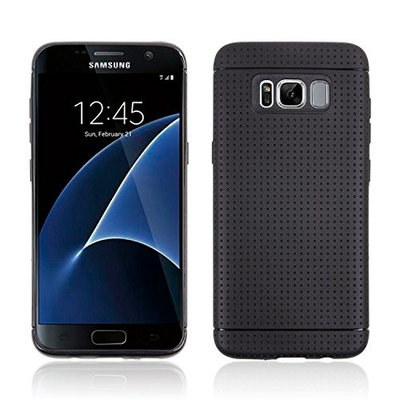 Galaxy ,UCLL Samsung Galaxy , Silicone TPU Clear Soft Protective Rubber Cover for G With Screen Protector