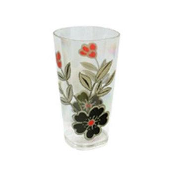 Reston Lloyd Mandarin Flower19Oz Acrylic Glass, S/6, Corelle