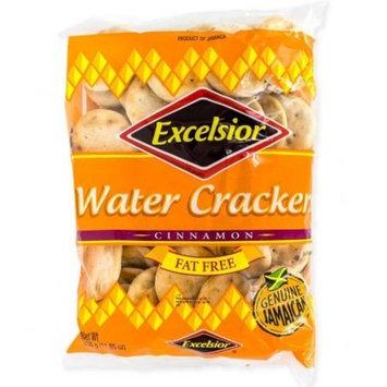 Excelsior Genuine Jamaican Water Crackers Cinnamon, Fat free 11.85 OZ
