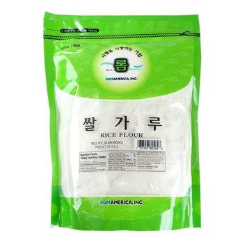 ROM AMERICA [ 2 Pound ] White Rice Flour Rice Powder 쌀가루