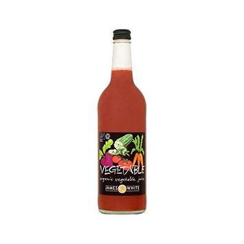 James White Organic Vegetable Juice 750ml (Pack of 6)