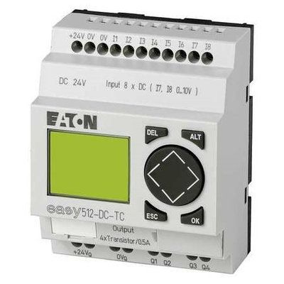 Eaton Moeller EASY821-DC-TC Control Relay, 24Vdc