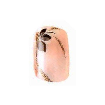 Bundle 3 Items : 2x Sets of Cala Professional Fashion Nails in Pink with Black Flower # 88405 + Aviva Eco Nail File