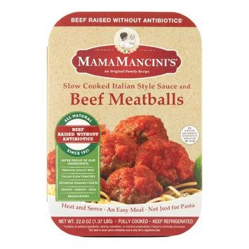 Mama Mancini's Slow Cooked Italian Beef Meatballs, 1.375 Lb