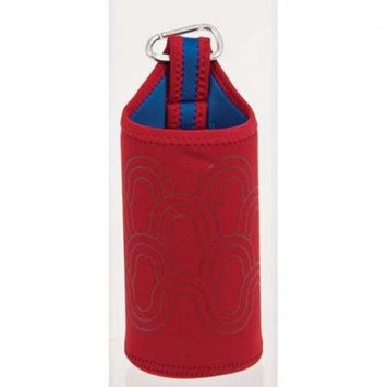 Nalgene 2355-0018 Bottle Sleeve Red Waves 32 Oz