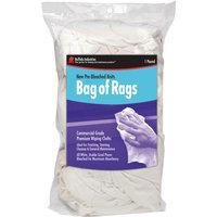 Buffalo Industries (12024) New Bleached Knit Cloth Rag - 25 lb. box