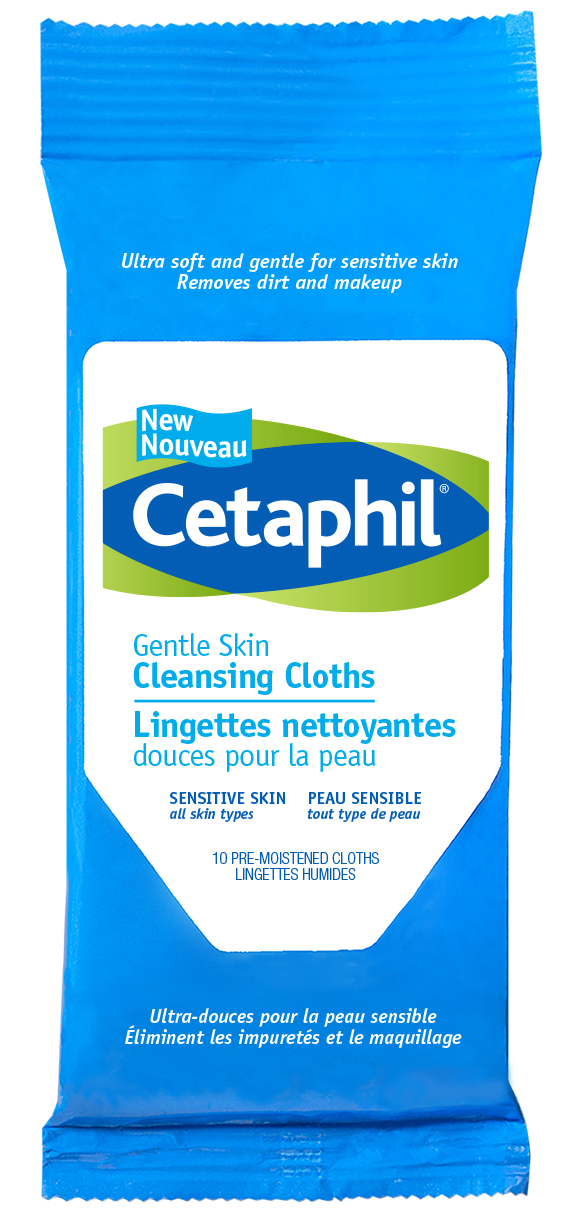 Cetaphil Gentle Skin Cleansing Cloths, All skin types