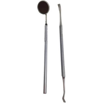 Mbb Double End Dog Dental Tooth Scaler Tartar Remover stainless Steel Dental Inspection Mirror