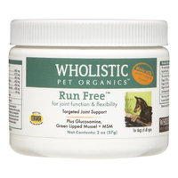 Wholistic Canine Run Free with Green Lipped Muscle, 2 Oz