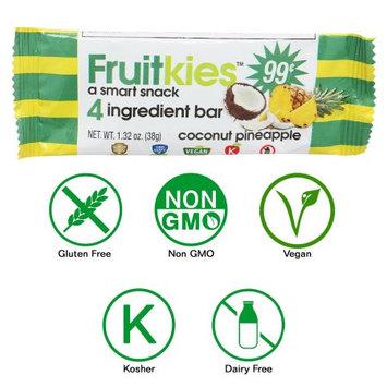 Keep Healthy, Inc Fruitkies Coconut Pineapple 4 Ingredient Fruit Snack Bar (Single Bar)
