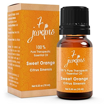 7 Jardins 100% Pure Essential Oil Therapeutic Grade Orange Boost Immunity & Skin