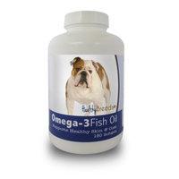Healthy Breeds 840235141174 Bulldog Omega-3 Fish Oil Softgels 180 Count