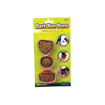 Ware Manufacturing Pine Wood Chew-A-Lot Crunch Bon-Bons Small Pet Chew, Pack of 3